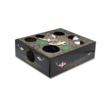 Load image into Gallery viewer, DoyenWorld Koi Pond Puzzle Box with Catnip Balls