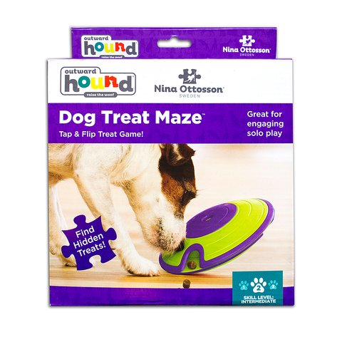Nina Ottosson Dog Treat Maze Interactive Dog Toy