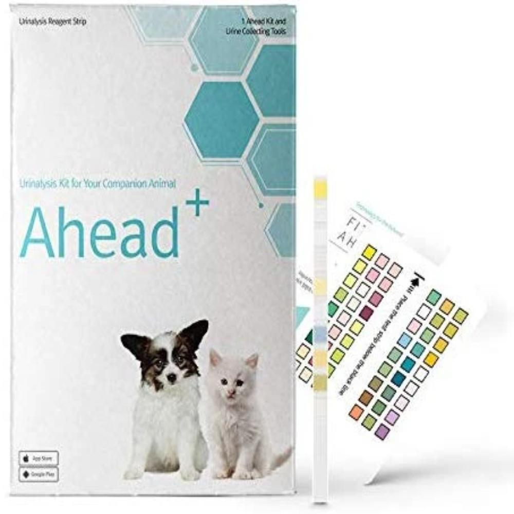 FITPET AHEAD + for Dogs – Smartphone Urinalysis Kit with Urine Collecting Tools for Dogs
