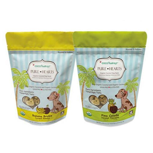 CocoTherapy Coconut Cookies Pure Hearts