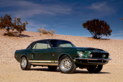 The Approachable Legend & Shelby's One-Off Green Hornet