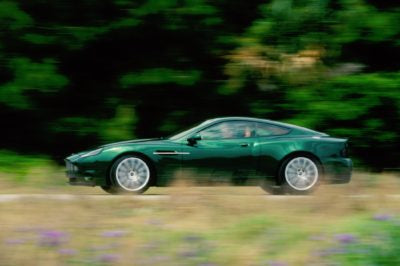 Lightning from Automotive Heaven: Aston Martin's Project Vantage