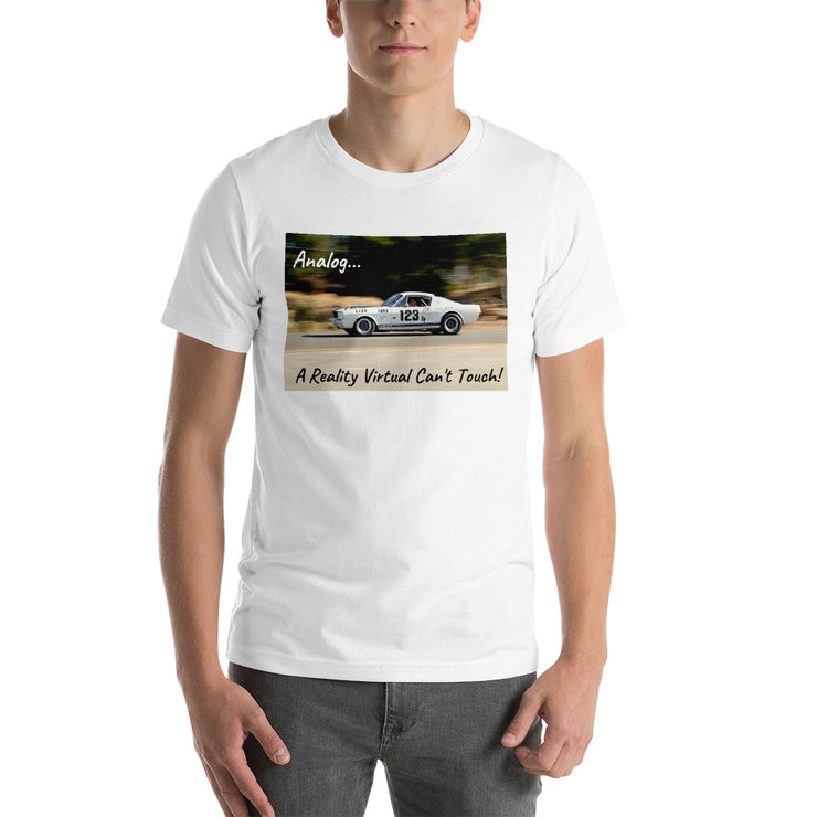 "Shelby Mustang GT350R ""Analog"" Short-Sleeve Unisex T-Shirt"