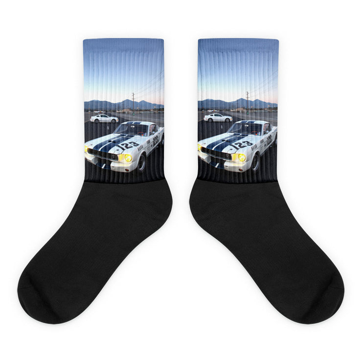 Shelby Mustang GT350R and GT Socks