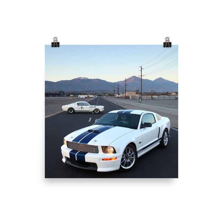 Shelby GT & Shelby GT350R Print