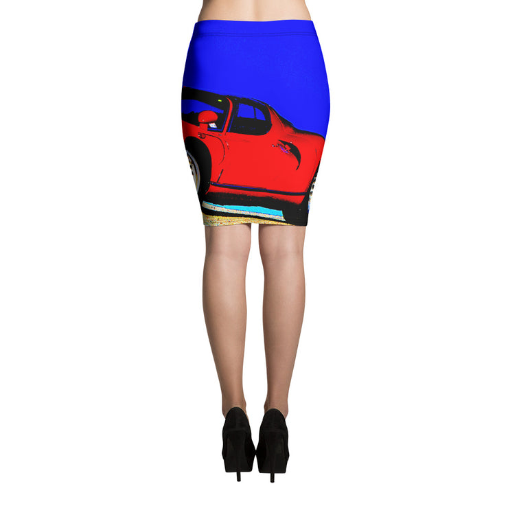 Alfa 33 Stradale Pencil Skirt