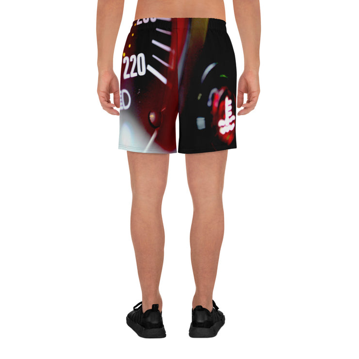Ferrari F40 Men's Athletic Long Shorts