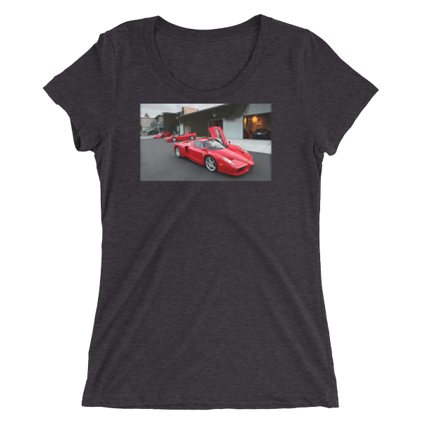 Ladies' short sleeve Ferarri t-shirt