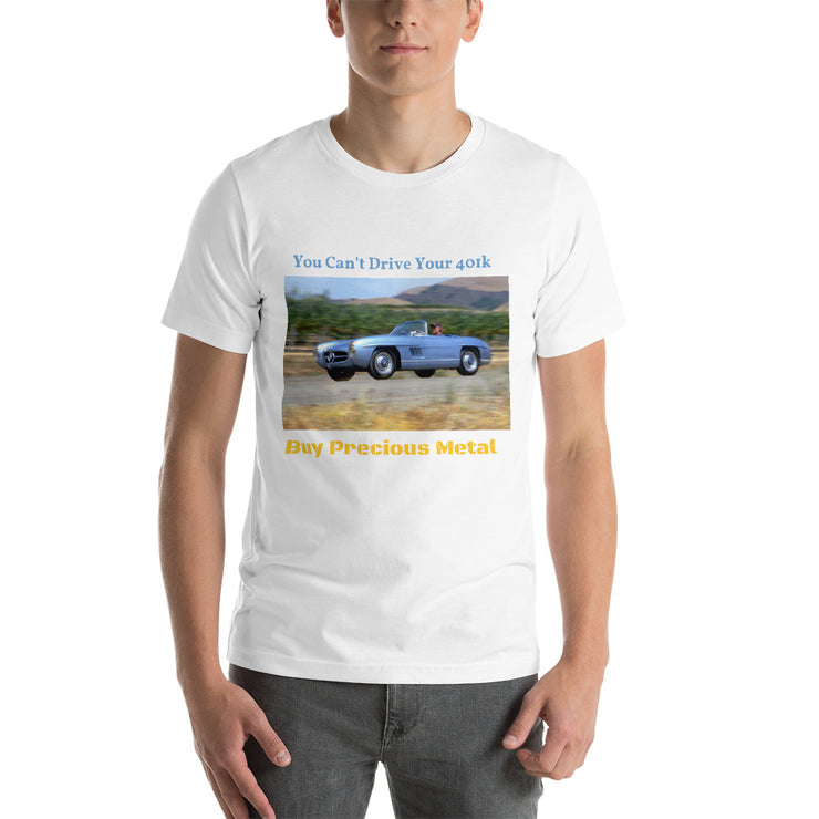 "Mercedes Benz 300SLS ""401k"" Short-Sleeve Unisex T-Shirt"