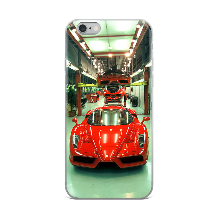 Ferrari Enzo Production Line iPhone Case