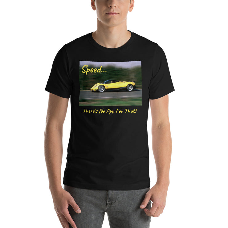 Pagani Zonda at Speed Short-Sleeve Unisex T-Shirt