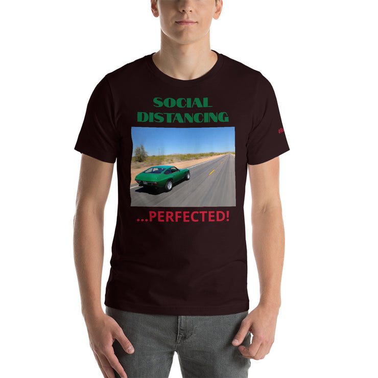 Social Distancing Short-Sleeve Unisex T-Shirt