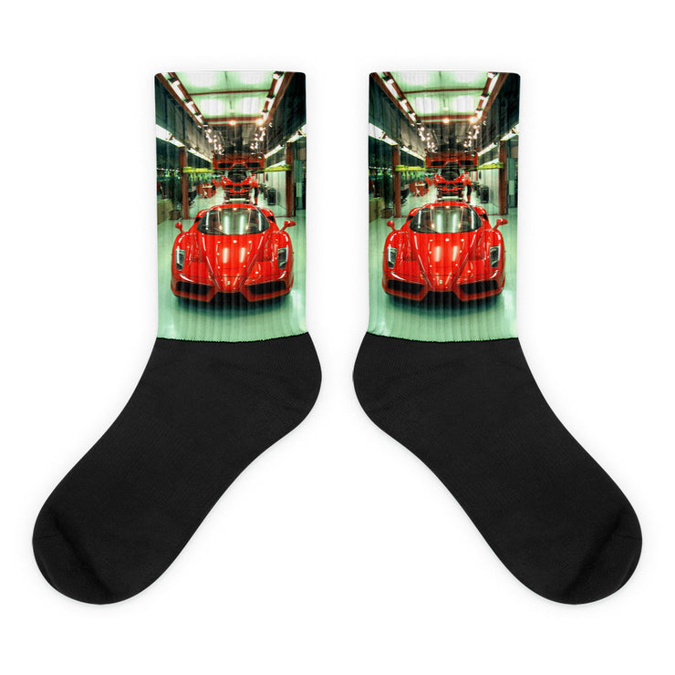 Ferrari Enzo Production Line Socks