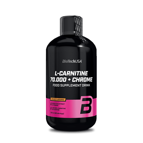 L-Carnitine 70.000 mg + Chrome bebida - 500 ml