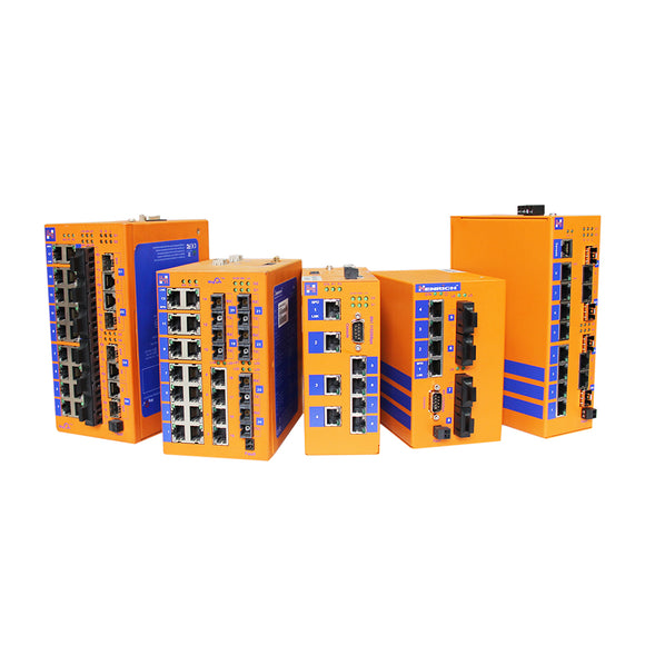 DIN-Rail Managed Ethernet Switches
