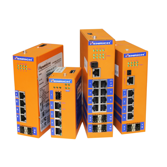 Power over Ethernet (PoE) Switches
