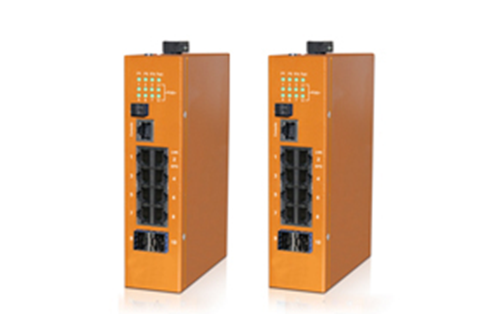 HES10GM-8E-2SFP-VL - DIN-Rail Managed, 8 x  1000Mbps POE Copper Port, 2 x  1000Mbps SFP Fiber Port