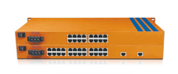 HES26C-2G-4SC-VHW - Rackmount Unmanaged, 20 x 100Mbps Copper Port, 2 x 1000Mbps SFP Fiber Port,  4 x 100Mbps Fiber Port, 2KM, Multi Mode Dual Fiber, SC Interface, Wide Temperature