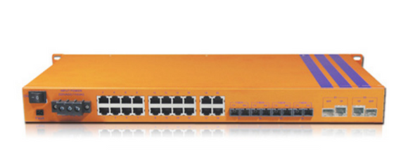 HES26MC-2G-VHW - Rackmount Managed, 24 x 100Mbps Copper Port, 2 x Gigabit Combo Port, Wide Temperature