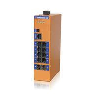 HES10GM-2SFP-VLW-Din-rail Managed, 8 Gigabit Copper Port, 2 Gigabit SFP fiber ports,  Industrial Temperature -14°C to +85°C, Power Input 12~52VDC