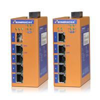 HES5A-4E-VL - DIN-Rail Unmanaged, 4 x  100Mbps POE Copper Port, 1 x  100Mbps Copper Port