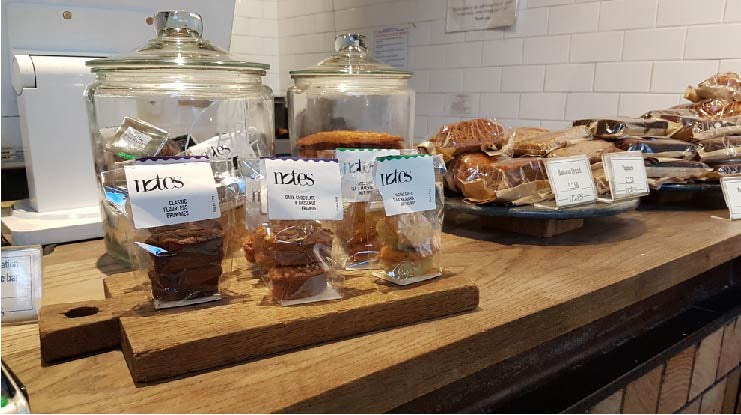 B-Tempted launches into Notes Coffee roasters London
