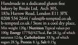 B-Tempted Coeliac Friendly, wheat free, gluten free, low FODMAP, handmade, sustainably sourced friand cakes