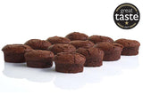 B-Tempted Gluten Free Flourless Brownie, friand, cake, Great Taste award winner 2017 & 2012 Gold star, coeliac friendly cake
