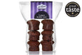 B-Tempted Gluten Free Flourless Brownie pack of 6 friand cakes, Great Taste award winner 2017 & 2012 Gold star, coeliac friendly cake