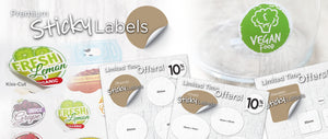 Sticky Labels / Sticker Printing / Stickers / Sticker