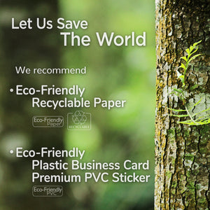 Eco-Friendly Recyclable Paper