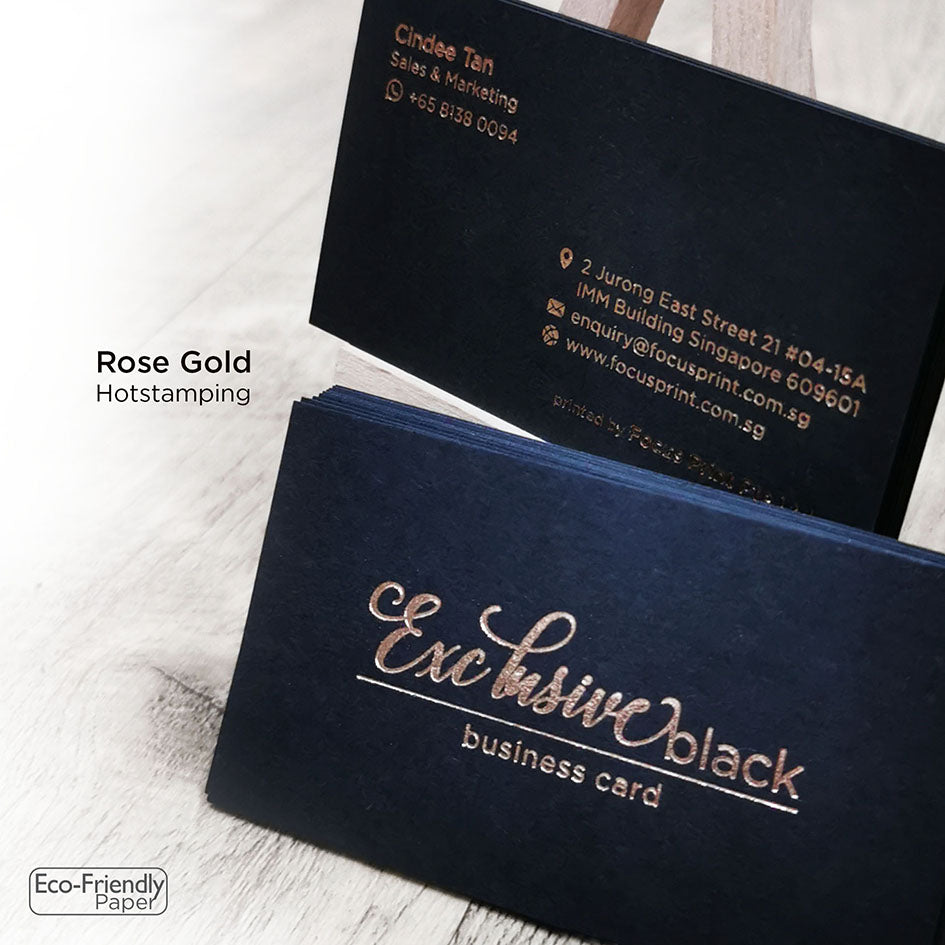 Exclusive Black Business Card