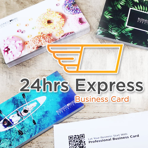 24hrs Express Business Card - Focus Print Pte Ltd