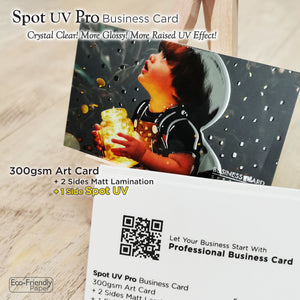*New! Spot UV Pro Business Card - Focus Print Pte Ltd