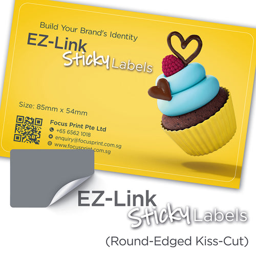 EZ-Link Sticky Labels - Focus Print Pte Ltd