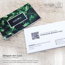 Load image into Gallery viewer, Express Budget Business Card - Focus Print Pte Ltd