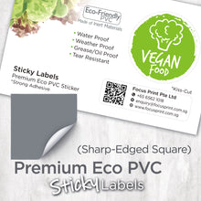Load image into Gallery viewer, Premium Eco PVC Sticker (Sharp-Edged Square) - Focus Print Pte Ltd