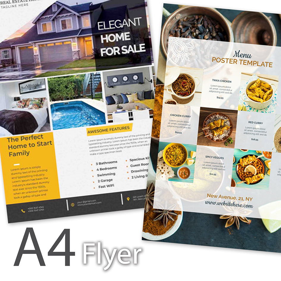 Flyer (A4 Size) - Focus Print Pte Ltd