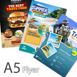 Flyer (A5 Size) - Focus Print Pte Ltd