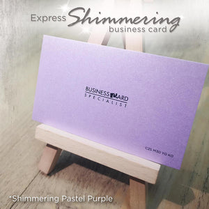 *New! Express Shimmering Business Card - Focus Print Pte Ltd