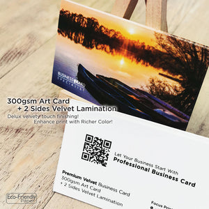*New! Premium Velvet Business Card - Focus Print Pte Ltd