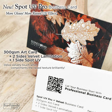 Load image into Gallery viewer, *New! Premium Velvet Business Card - Focus Print Pte Ltd