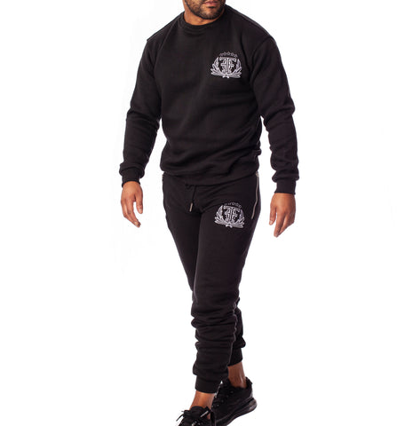 FOF Casual FAMILLE tracksuit - Black