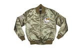 FOF Ultimate Eagle Bomber Jacket - Dark Olive Green