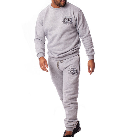 FOF Casual FAMILLE tracksuit - Grey