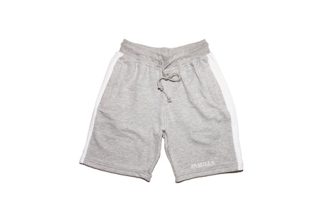 FAMILLE Twin set shorts - Grey