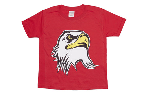 Kids Ultimate Eagle head t-shirt- Red