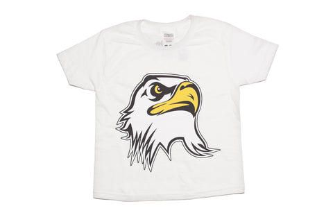 Kids Ultimate Eagle head t-shirt- White