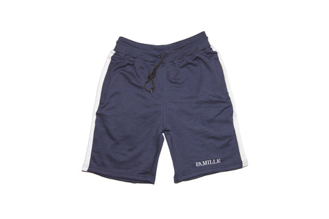 FAMILLE Twin set shorts - Navy
