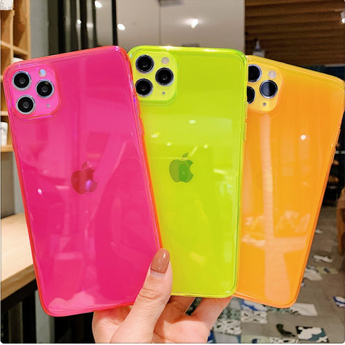 Neon Fluorescent Soft Cover Case